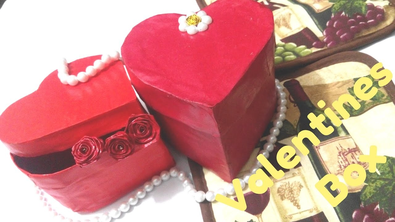 Paper Origami Craft Heart Shape Box | Paper box origami | #quilling AIOCraft#7