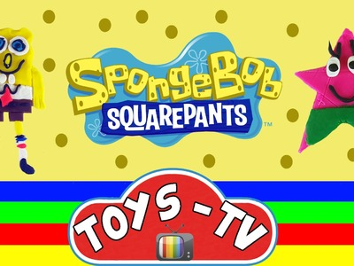 Play Doh Spongebob Squarepants Patrick Fun & Easy How To DIY Play Doh