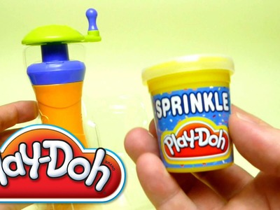 Play-Doh Super DIY Tools - Sprinkle Color Confetti Ice Cream Cup