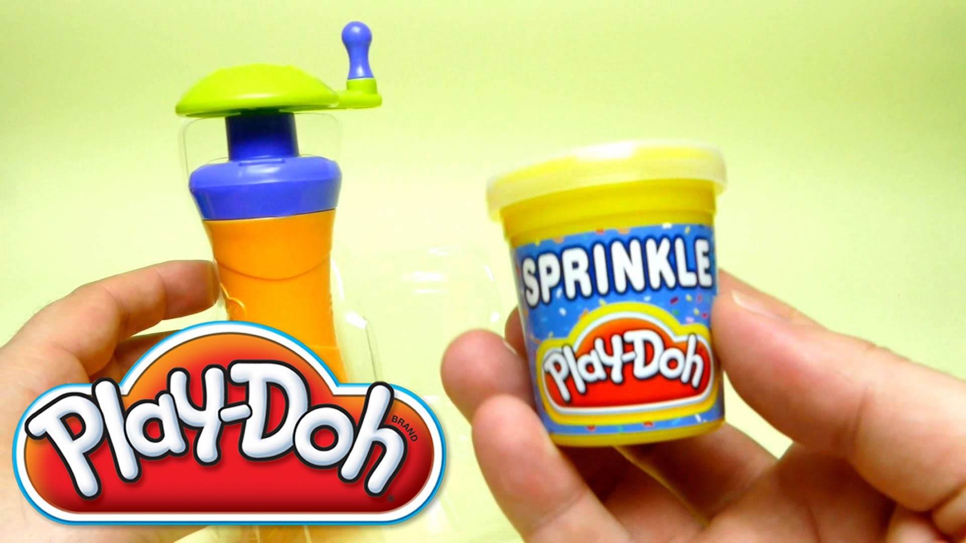 Play-Doh Super DIY Tools - Sprinkle Color Confetti Ice Cream Cup