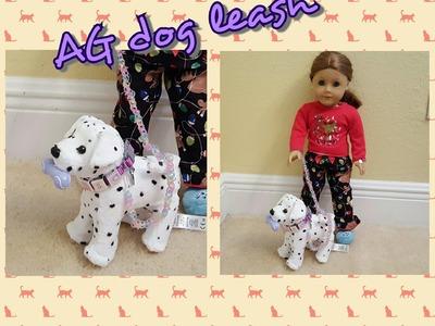 Rainbow Loom: American Girl Doll Pet Leash - Loomless!