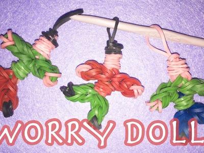 RAINBOW LOOM BANDS Worry Doll Charms | LOOMLESS