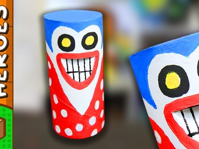The Prankster - DIY Paper Roll Crafts | Box Heroes on Box Yourself