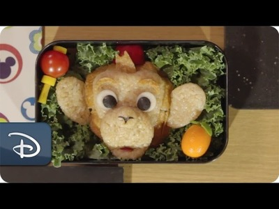 Disney Parks How-To Make a Bento Box Magical: Albert the Monkey | Hong Kong Disneyland