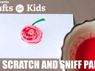 DIY 3 Ingredient Scratch and Sniff Paint | PBS Parents | Crafts for Kids