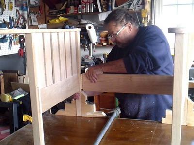 DIY Building a Morris Chair 3