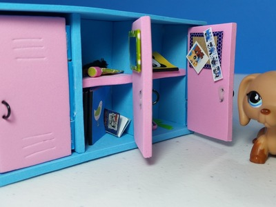 DIY Doll Lockers for LPS or MLP
