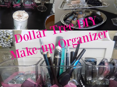 Dollar Tree DIY-Makeup Organizers