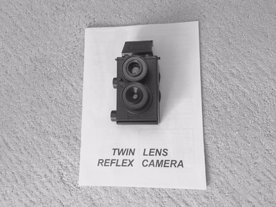Fotodiox DIY Twin Lens Reflex (TLR) Camera Kit - Build. Review