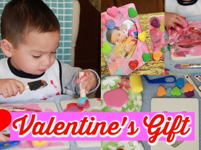 FUN VALENTINE'S DAY GIFT! CRAFT.DIY FOR KIDS!