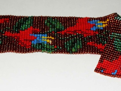 How To Beaded Loom Bookmark Bracelet - DIY Crafts Tutorial - Guidecentral