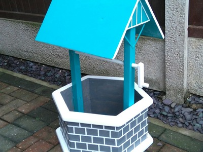 How to Build A Garden Wishing Well Out Of A Pallet & A Few Other Bits
