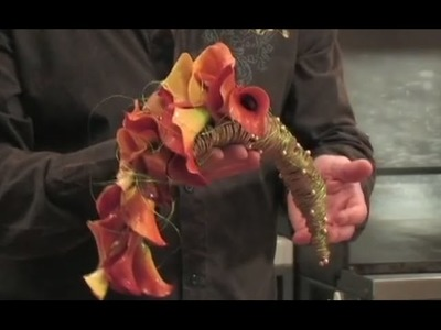 How to create a Crescent Calla Lily bouquet!