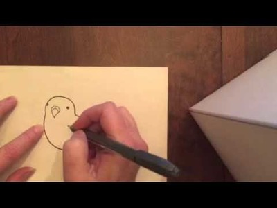 How to Draw a Fat Budgie