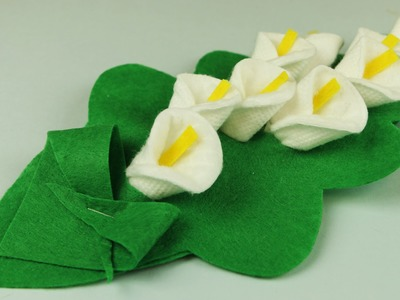 How to make a calla flower
