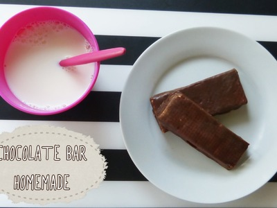 How to make a chocolate bar at home (easy recipe)
