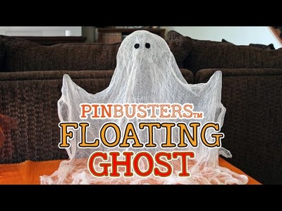 How To Make A Floating Ghost For Halloween. DOES IT WORK?