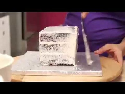 How to Make A GIFT BOX out of CAKE!! By: Yolanda Gampp