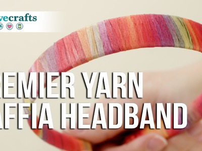 How to Make a Headband: Raffia Headband