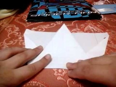 How to make a little blue bird paper airplane