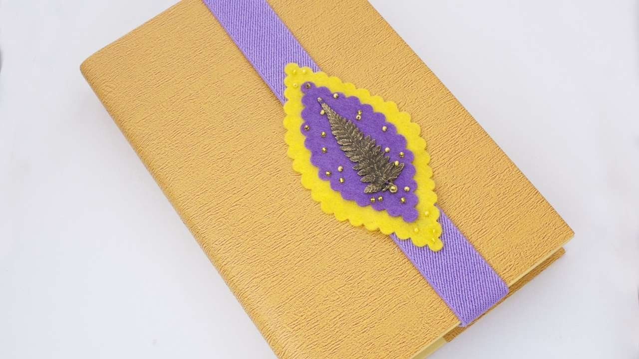 How To Make A Nice And Bright Felt Bookmark - DIY Crafts Tutorial - Guidecentral