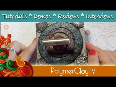 How to make a Scarf Hook with polymer clay and drawer pull