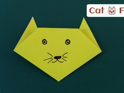 "How to make a super easy Paper ""Cat"