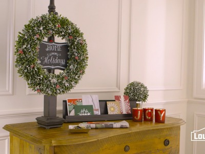 How To Make A Wreath Stand