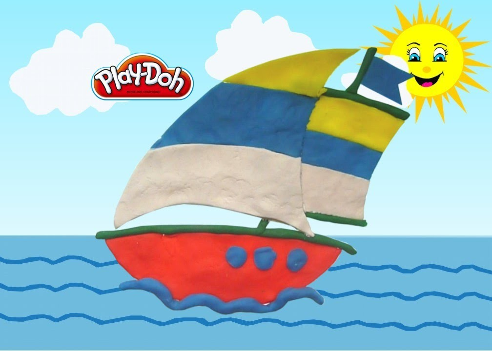 How to make boat for kids using Play-doh