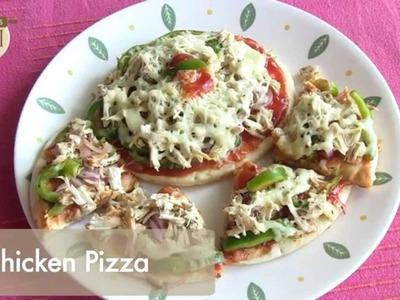 How To Make Chicken Pizza By Archana Tai | Archana's Rasoi