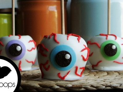 How to Make Chocolate Apple Eyeballs | Become a Baking Rockstar
