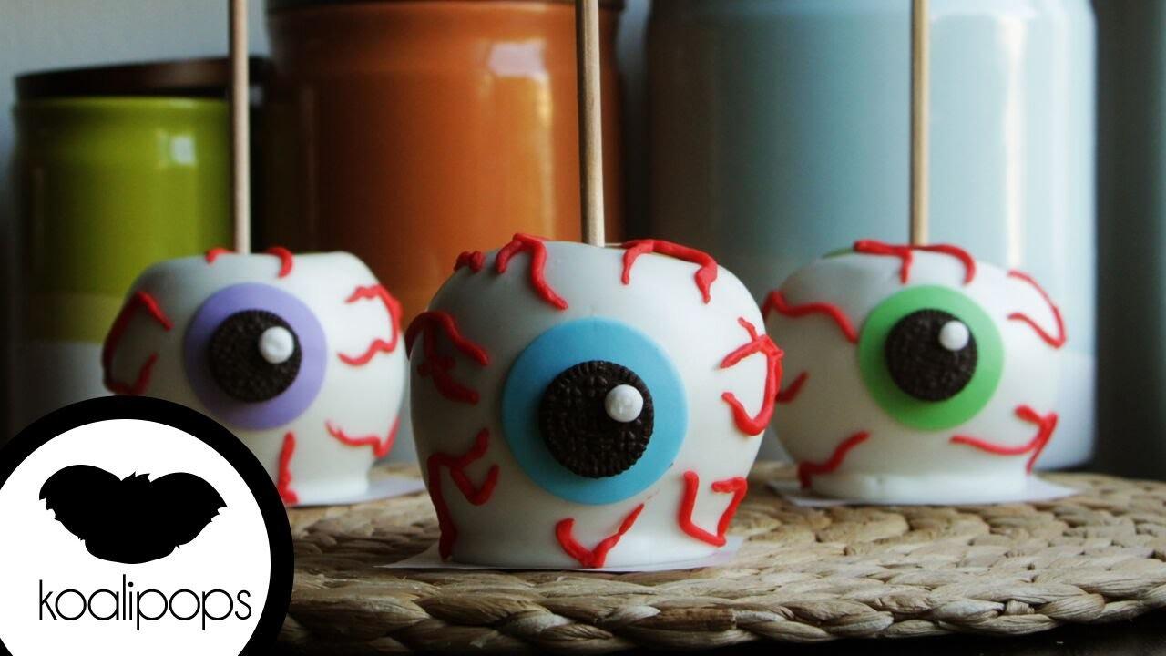 How to Make Chocolate Apple Eyeballs | Become a Baking Rockstar