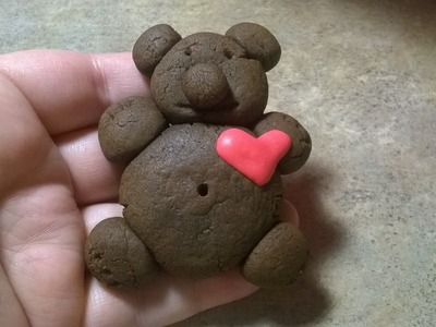 How to Make Chocolate Teddy Bear Cookies!