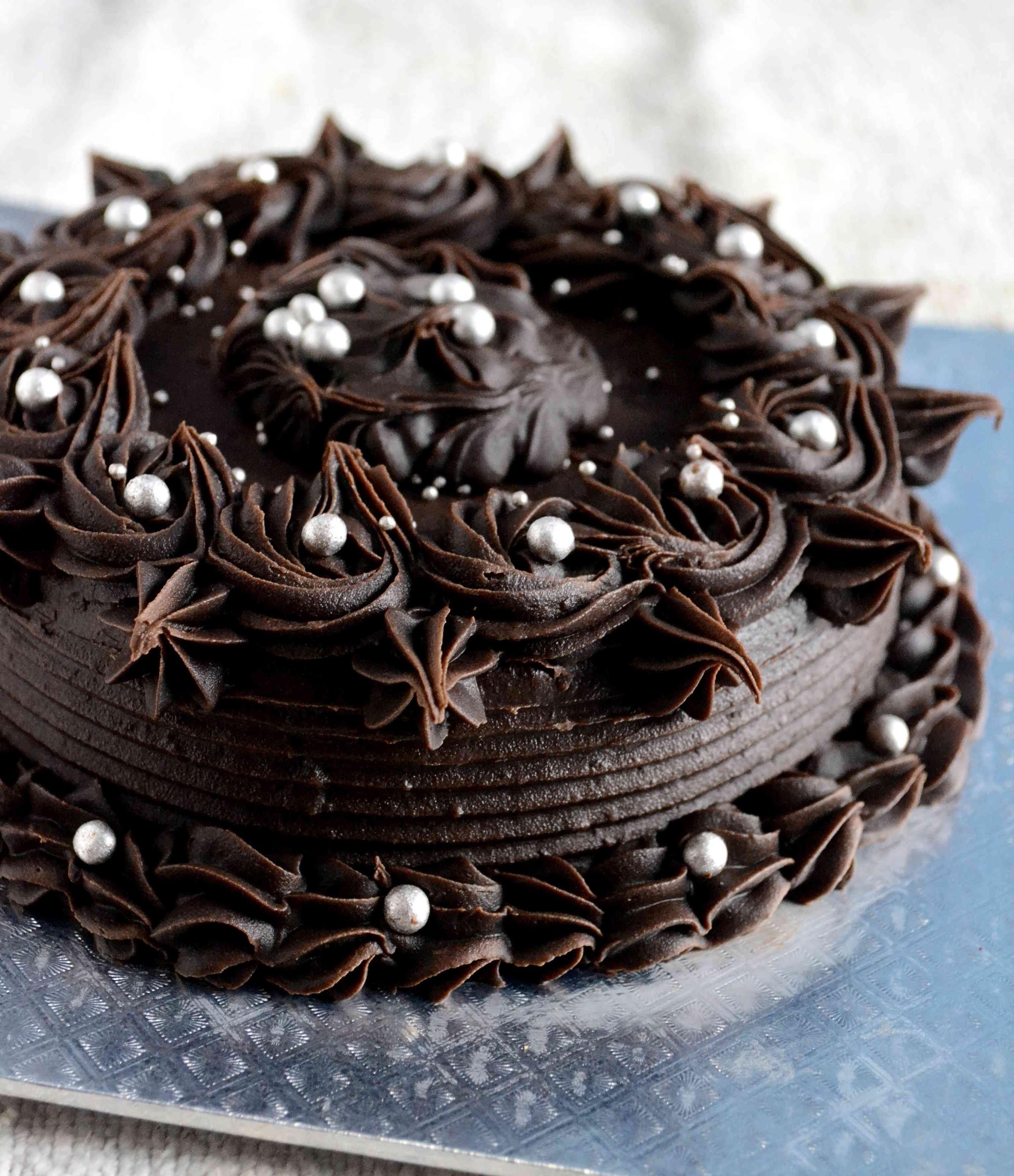 How To Make Dark Chocolate Ganache - Video Recipe