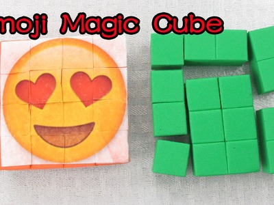 How to Make Emoji Magic.Transformer Cube by Creative World