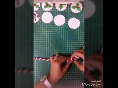 How to make fondant Candy Cane