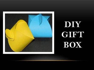 How to Make Paper Gift Box
