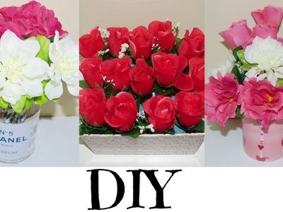 HOW TO:QUICK & EASY FLOWER ARRANGEMENT.ROOM DECOR.VALENTINE'S DAY UNDER CAD$7