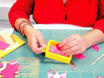How to use a paper crimper for card making