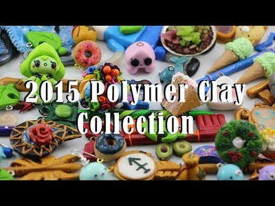 HUGE Polymer Clay Collection | Kawaii Charms, Celestial Keys and More! | #6