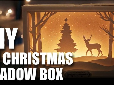 Mad Stuff With Rob - How To Make A 3D Christmas Shadow Box Card