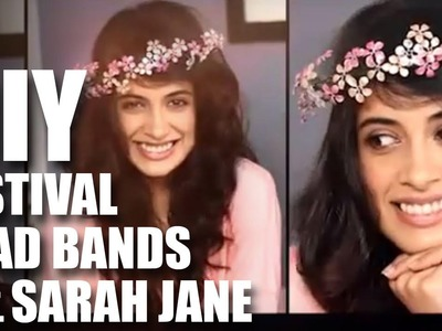 Mad Stuff With Rob - How To Make Head Bands For Festivals Feat. Sarah Jane | Music Festival Fashion