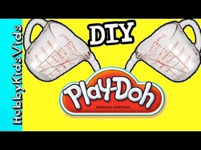 Make BROWN Play Dough With HobbySue! DIY by HobbyKidsVids