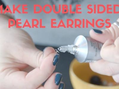 Make Double Sided Earrings: DIY
