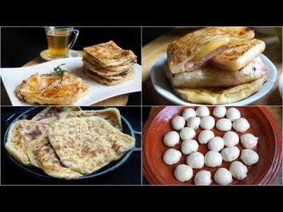 Msemen Dough By Hand (No Yeast) - How to Knead Dough By Hand - Fatemahisokay