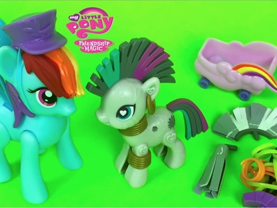 My Little Pony Friendship is magic MLP POP Zecora MLP Rainbow Dash zoom and go by DisneyToysReview
