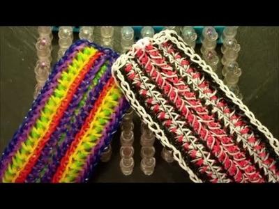 NEW!! Gambler on the Rainbow Loom 4 looms