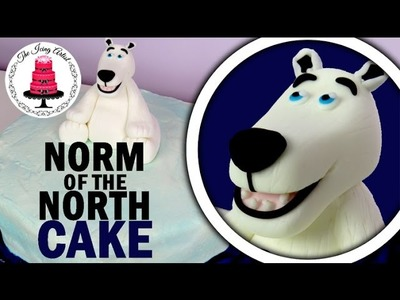 Norm Of The North Cake - How To With The Icing Artist