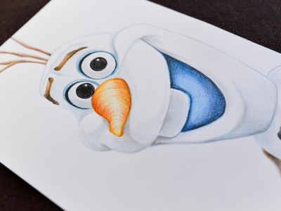 OLAF Frozen - Speed Drawing How to Draw