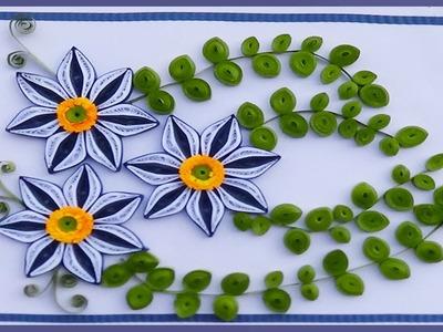 Paper Quilling: A Beautiful greeting card made easy for this new year